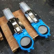 Jual Knife Gate Valve Pneumatic Actuator