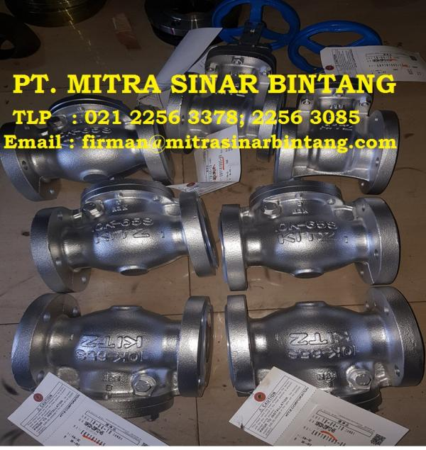 Jual Swing Check Valve KITZ