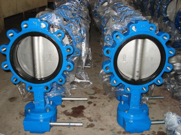 Menjual Butterfly Valve Body Cast Iron